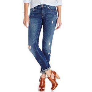 Lucky Brand | Sienna Distressed Boyfriend Jeans